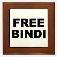 FREE BINDI Framed Tile