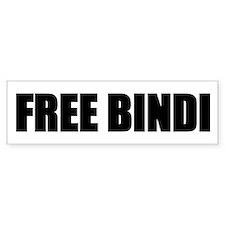 FREE BINDI Bumper Bumper Sticker