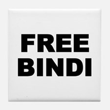 FREE BINDI Tile Coaster