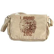 I Survived 2012 Messenger Bag