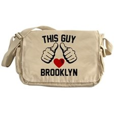 thisGUY-brkln-2 Messenger Bag