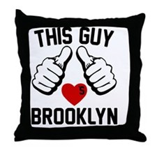 thisGUY-brkln-2 Throw Pillow