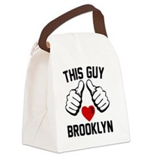 thisGUY-brkln-2 Canvas Lunch Bag
