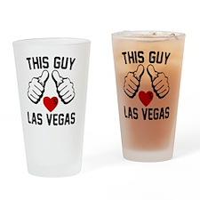 thisGUY-vegas-1 Drinking Glass