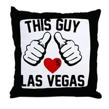 thisGUY-vegas-1 Throw Pillow