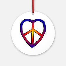 CND Peace Ornament (Round)