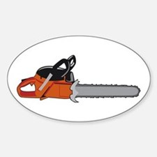Chainsaw Decal