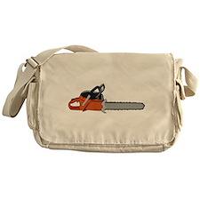 Chainsaw Messenger Bag