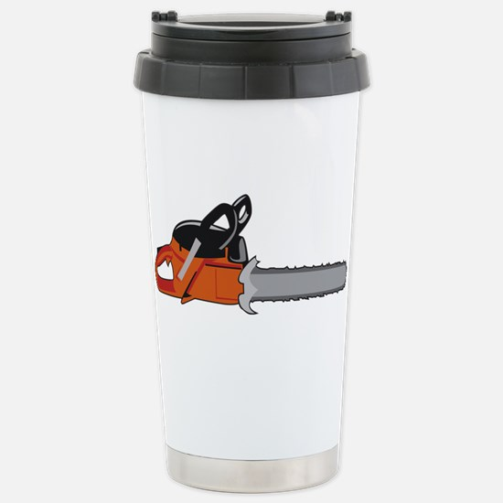 Chainsaw Travel Mug
