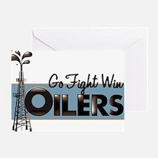 oilers Greeting Card