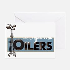 oilers-trans Greeting Card