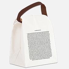 Cute Amateur radio Canvas Lunch Bag