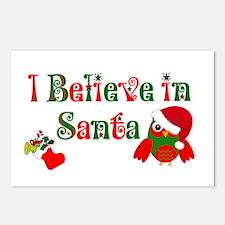 I believe in Santa Postcards (Package of 8)