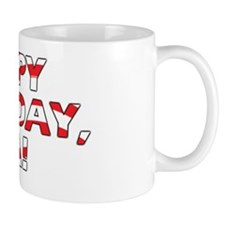 Happy Birthday USA Mug