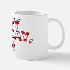 Happy Birthday USA Mug