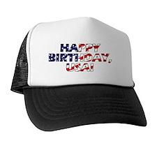 Happy Birthday USA Trucker Hat