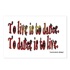 To Dance is to Live Postcards (Package of 8)