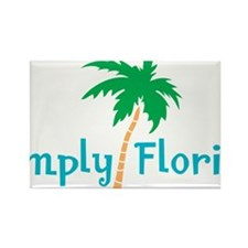 SimplyFlorida Rectangle Magnet