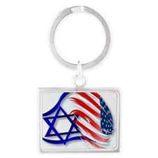 Stand With Israel_pillow Landscape Keychain