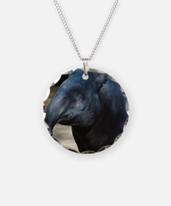 Portrait of a Malayan Tapir Necklace