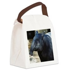 Portrait of a Malayan Tapir Canvas Lunch Bag
