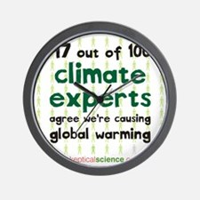 Climate Consensus Wall Clock