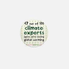 Climate Consensus Mini Button