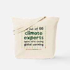 Climate Consensus Tote Bag