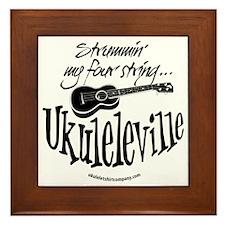 Ukuleleville Framed Tile