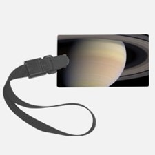 Saturn,_Earth_size_comparison Luggage Tag