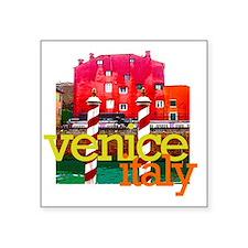 """venice3 Square Sticker 3"""" x 3"""""""