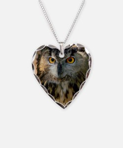 A Bengalese Eagle Owl Necklace