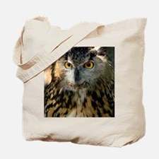 A Bengalese Eagle Owl Tote Bag