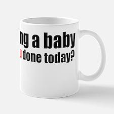 growing a baby Mug