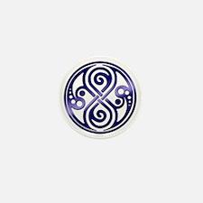 Infinity-purple Mini Button