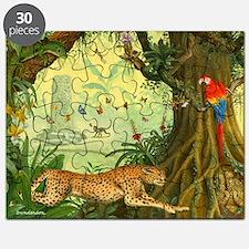 Cheetah Puzzle Puzzle