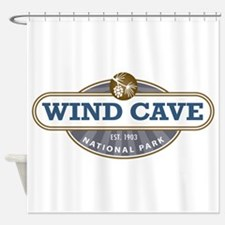 Wind Cave National Park Shower Curtain