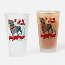 Tripawd Wwarrior Bellona Drinking Glass