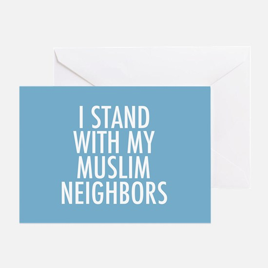 Stand with Muslims Greeting Card