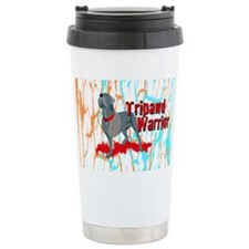 Tripawd Warrior 3x5 Sticker Travel Mug