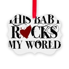 BABY ROCKS Ornament