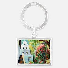 mission san Diego de alcala cou Landscape Keychain