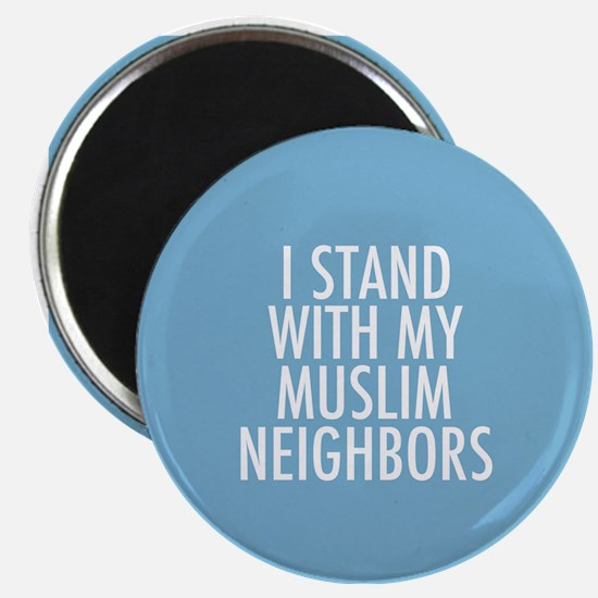 Stand with Muslims Magnet