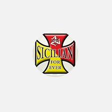 sicilian forever Mini Button