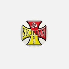 sicilian pride Mini Button