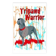 Tripawd Warrior 5X7 Card Postcards (Package of 8)