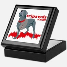 Tripawd Warrior Pocket T Keepsake Box