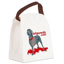 Tripawd Warrior Pocket T Canvas Lunch Bag