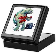 Turtle Tuning Guitar Keepsake Box
