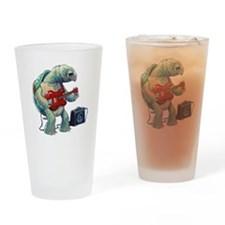 Turtle Tuning Guitar Drinking Glass